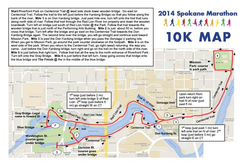 Spokane Marathon Marathon Relay Half Marathon And 10k Run